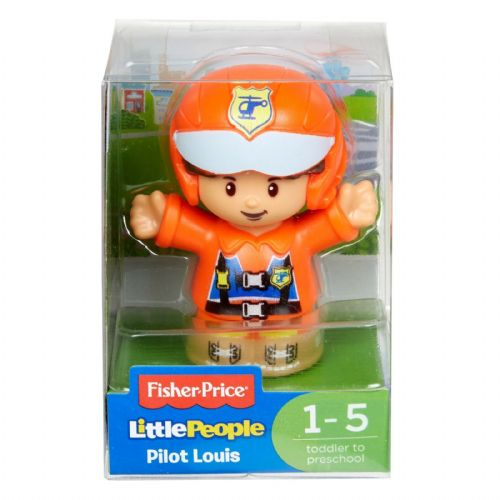 Fisher Price Little People Pilot Louis